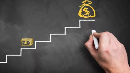 Принцип стратегии ставок лесенка